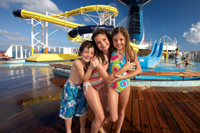 Carnival Cruise Lines Waterworks