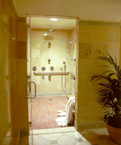Swiss therapy showers @ The Claremont Hotel Club & Spa