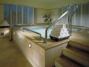 Jacuzzi - Overlooking the San Francisco Bay & Claremont Resort and Spa